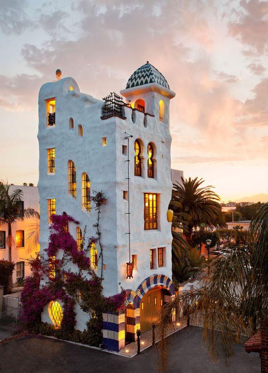 Ablitt Tower by Jeff Shelton, Architect 13 West Haley, Santa Barbara, CA